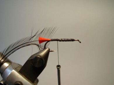 Fly tying - Woolly Worm - Step 3