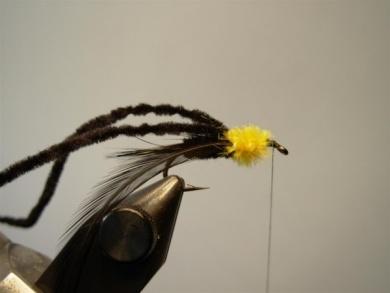 Fly tying - Montana Stone - Step 6