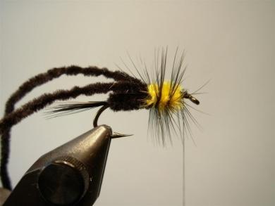 Fly tying - Montana Stone - Step 7