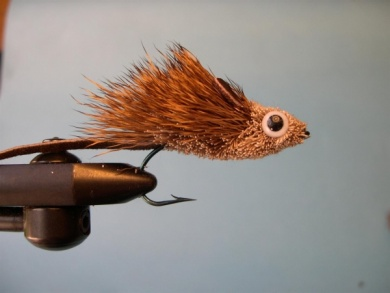 Fly tying - Deer Hair Mouse - Step 9