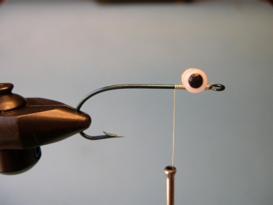 Fly tying - Deer Hair Mouse - Step 1