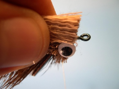 Fly tying - Deer Hair Mouse - Step 7