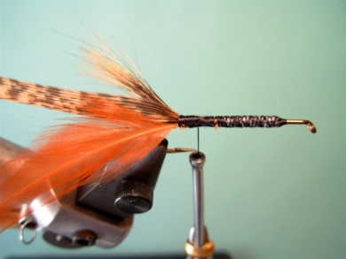 Fly tying - Brown´s Crayfish - Step 5