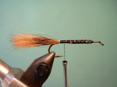 Fly tying - Brown´s Crayfish - Step 2