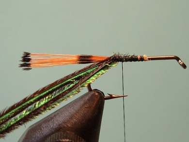 Fly tying - Royal Trude - Step 2