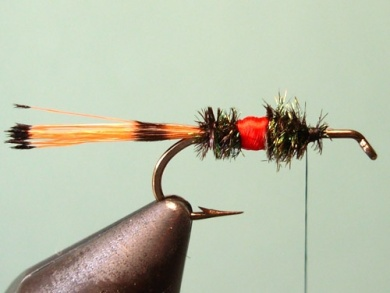 Fly tying - Royal Trude - Step 7