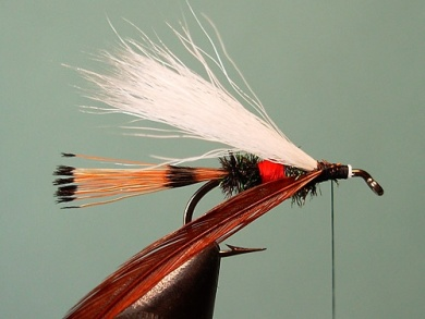 Fly tying - Royal Trude - Step 9
