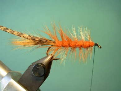 Fly tying - Brown´s Crayfish - Step 7