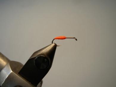 Fly tying - Transpar-Ant - Step 1