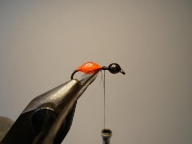 Fly tying - Transpar-Ant - Step 4