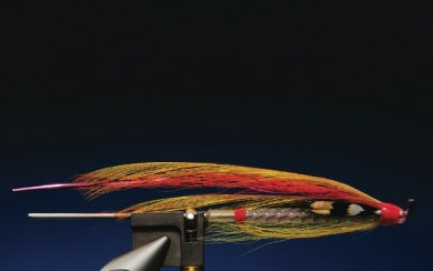 Fly tying - Austral Sunrise - Step 9