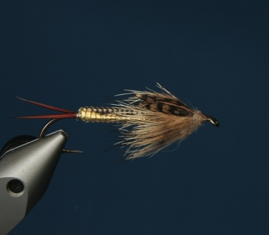 Fly tying - George´s Grant Stone Fly - Step 13
