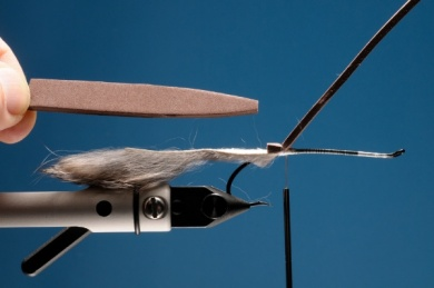 Fly tying - Rat Time - Step 2
