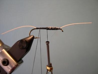 Fly tying - Cousin Itt - Step 3
