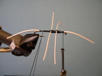 Fly tying - Cousin Itt - Step 5