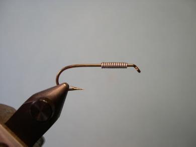 Fly tying - Cousin Itt - Step 1