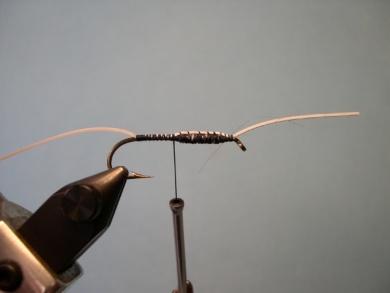 Fly tying - Cousin Itt - Step 2