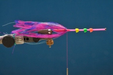 Fly tying - MM Russian Intruder - Step 3