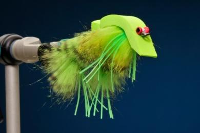 Fly tying - Snake Frog - Step 7