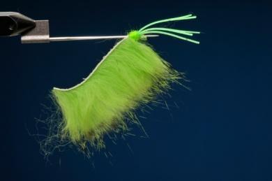 Fly tying - Snake Frog - Step 2