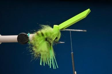 Fly tying - Snake Frog - Step 5