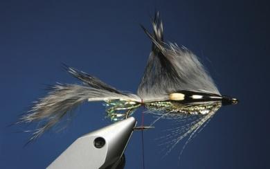 Fly tying - Zonker Variation - Step 12