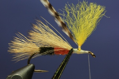 Fly tying - PMX Sparkle Orange - Step 6