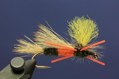 Fly tying - PMX Sparkle Orange - Step 11