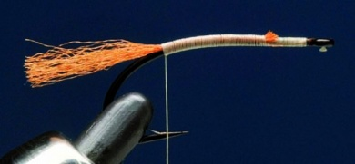 Fly tying - MM CHILOPORTER EMERGER - Step 1