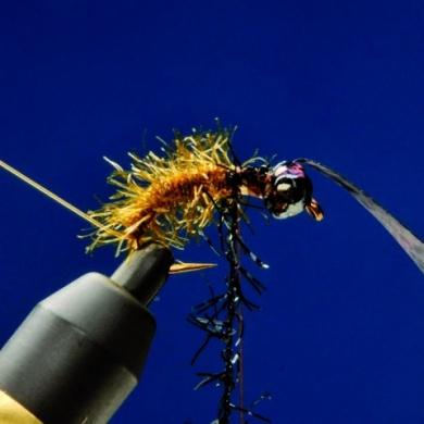 Fly tying - CZECH NYMPH - Step 5