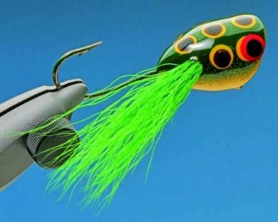 Fly tying - Mc Nally Frog Popper - Step 8