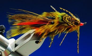 Fly tying - Green Death - Step 10