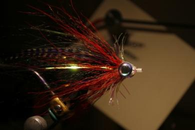 Fly tying - Weedless Optic Minnow feat. Brad Bohen - Step 21