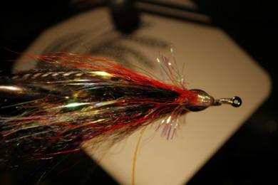 Fly tying - Weedless Optic Minnow feat. Brad Bohen - Step 27