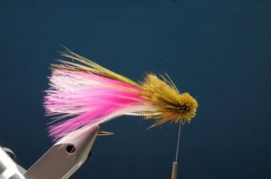Fly tying - M.M. Rainbow Muddler - Step 8