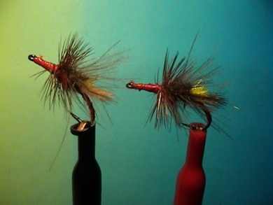 Fly tying - Grayling Attractor - Step 10