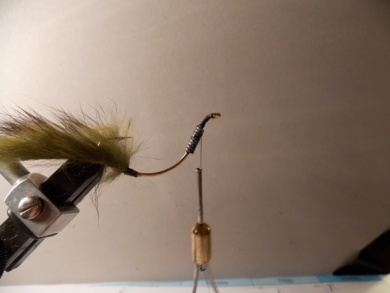 Fly tying - Crazy Crawdad HPU - Step 11
