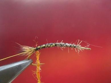 Fly tying - Stimulator fly - Step 2
