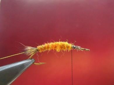 Fly tying - Stimulator fly - Step 3