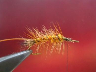 Fly tying - Stimulator fly - Step 5
