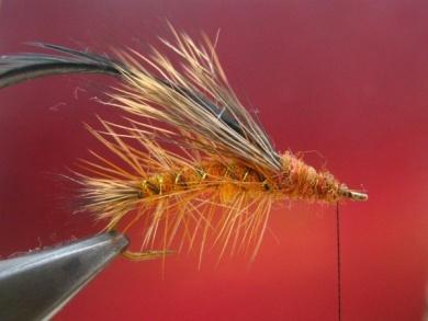 Fly tying - Stimulator fly - Step 7