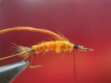 Fly tying - Stimulator fly - Step 4