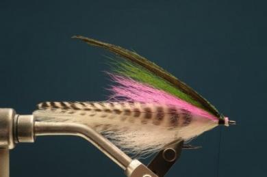 Fly tying - Rainbow Warrior - Step 5