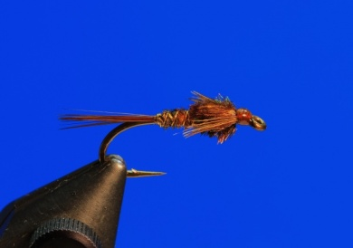 Fly tying - Pheasant Tail - Step 9
