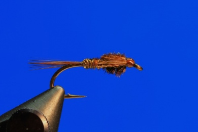 Fly tying - Pheasant Tail - Step 8