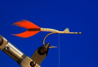 Fly tying - M.M. Silver Mojarra - Step 1