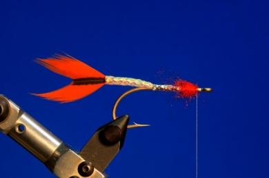 Fly tying - M.M. Silver Mojarra - Step 3