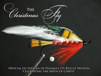 Fly tying - THE CHRISTMAS FLY - Step 1