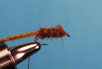 Fly tying - Whitlock's Sowbug - Step 5