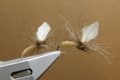 Fly tying - N.A.KH. (Not Another Klinkhamer). - Step 16